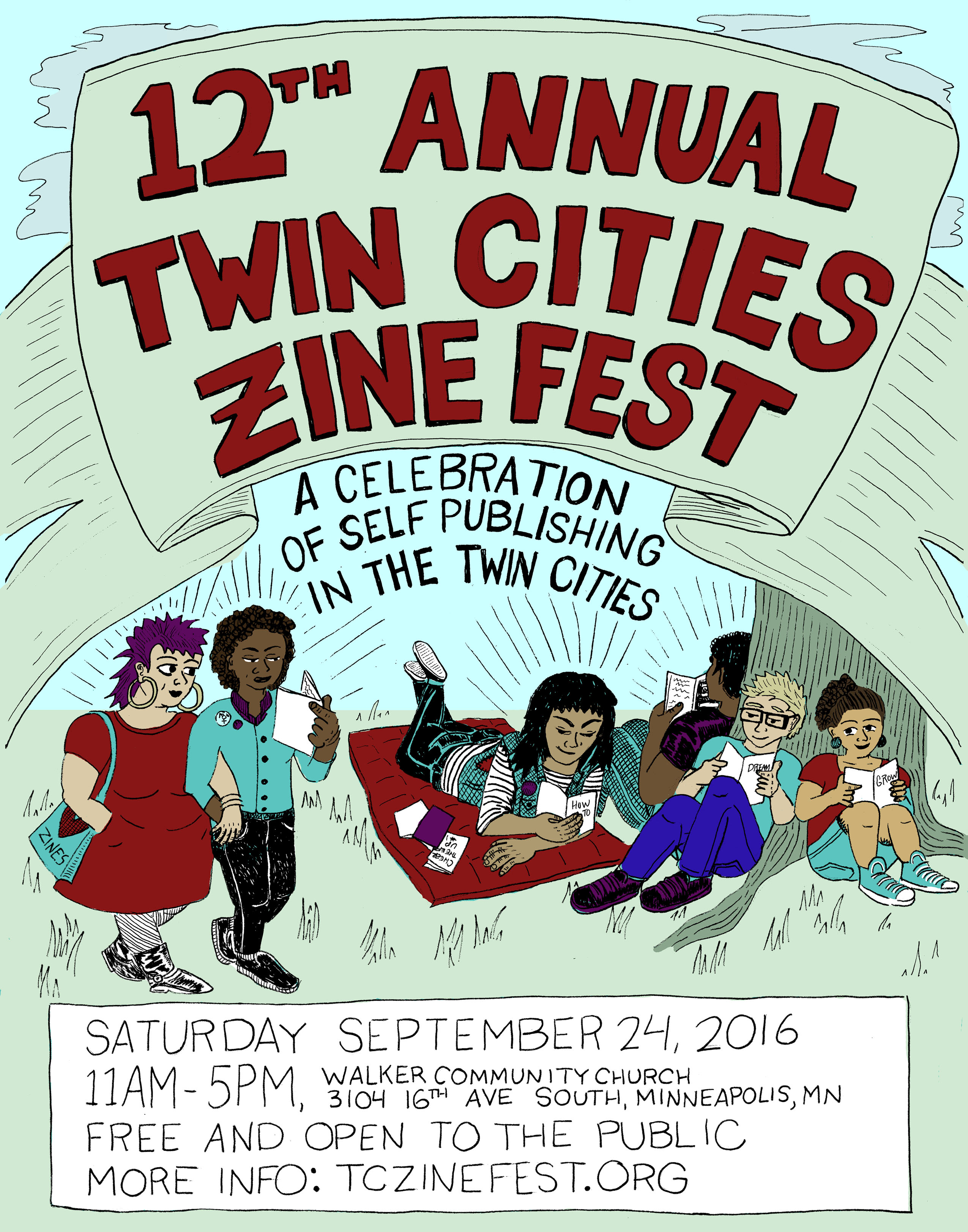 2016 TCZF poster